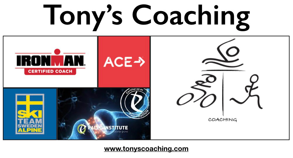 Tony's Coaching Logotype
